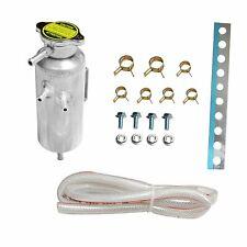Universal Car Radiator Coolant Aluminum Catch Tank Bottle Overflow Reservoir Can