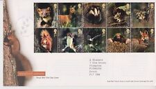 TALLENTS PMK GB ROYAL MAIL FDC FIRST DAY COVER 2004 WOODLAND ANIMALS STAMP SET