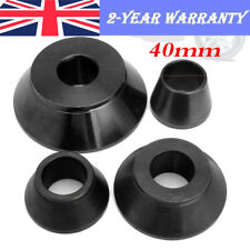 4Pcs 4Sizes Car Steel Wheel Balancer Standard Taper Cone Kit Set for 40mm Shaft
