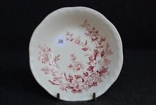 Alfred Meakin Garden Bounty Set of 2 Berry Bowl Pink Red Staffordshire England