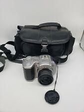 Sony Mavica MVC-CD400 4.0MP Digital Camera-Carl Zeiss Lens 6x Optical Zoom +bag