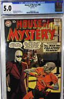 House of Mystery #88 CGC 5.0 DC 1959 Silver Age Comic Book 1st Print
