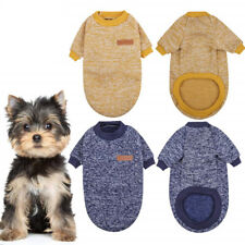 Dog Puppy Sweater Hoodie - For Smaller Breeds - Clothing for Yorkshire Terrier
