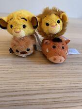 Disney Lion King Tsum Tsum Mini Plush Set of 4 - Simba/Young Simba/ Timon/ Pumba