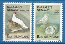 GREENLAND MNH 1987 Birds