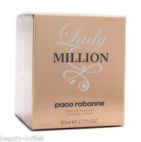 Paco Rabanne Lady Million EDP 80ml Eau de Parfum Femme NEUF & 100% Authentique