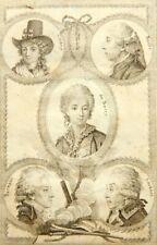UNBEKANNT (16.Jhd), Persönlichkeiten der Französischen Revolution, KSt.