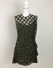 Simone Rocha Ikram Dress Olive Green US Sz 4 Or 6 Great Condition