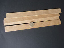 10 lengths for Modeling,Craft etc 1.6mm x  5mm x  300mm Wood Strip/_Oak