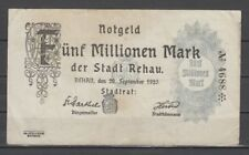 Rehau-ciudad - 5 millones de marcos