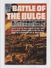 Battle of the Bulge #nn 12-056-606 Movie Classic Photo Cover Dell Comics 1966