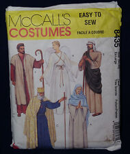 McCall's Costume Sewing Pattern 8435 Halloween Costume XL 44 46 Robes Gown