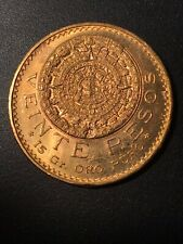 Mexican 1959 20 Pesos Gold Coin .4823 oz. AGW Gold Bullion