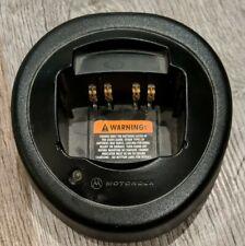 Motorola Htn9000B Black Single Unit Charging Station no Cord - Untested