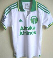 Boys MLS Adidas Portland Timbers Soccer Short Sleeve Jersey M NWT