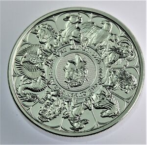 2021 Queen's Beast Completer Collection Coin 2 oz .999 silver in Capsule #731