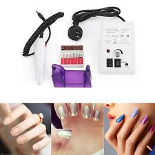 20000rpm Nail Manicure Tool Pedicure Electric Drill File Acrylic Art Machine AU