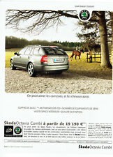 Publicité Advertising 018  2008  Skoda   Octavia combi tour de France
