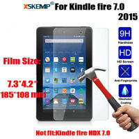 9H+ Tempered Glass Screen Protector For Amazon Kindle fire 7 2015 5th Generation