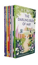 H E Bates 5 Books The Larkins Series Darling Buds of May Classic Pop Family New