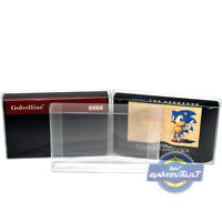 50 x Mega Drive & Master System Game Cart Protectors Cartridge Box STRONG 0.4mm