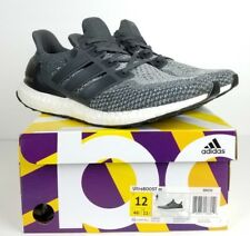 6abcd4675 adidas UltraBOOST 2.0 Mystery Grey Black White Ultra Boost (BB6056) Size 12