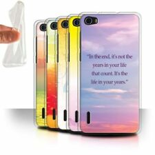 Silicone/Gel/Rubber Mobile Phone Cases, Covers & Skins for Huawei Honor 6