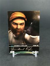 2009 STAR WARS FAN DAYS III JAMES A TAYLOR AUTO #12 OBI WAN AUTOGRAPH