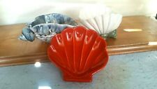 SOAP  DISHES   COLLECTION  OF  3    SHELL  SHAPES