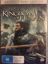 KINGDOM OF HEAVEN. DELUXE 2 DISC EDITION - DVD - FREE POST!!