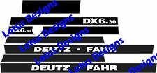 Deutz fahr DX6.30 autocollants/decals