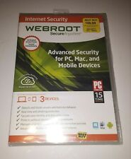 Webroot SecureAnywhere Internet Security - Full Version for Windows & Mac...