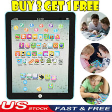Mini Baby Kids Laptop Tablet Pad Computer Child Educational Game Toy Learning