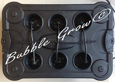 BUBBLE GROW 6 TOP FEED DRIP HYDROPONICS SYSTEM NFT DWC PLANT HERB GROWING KIT