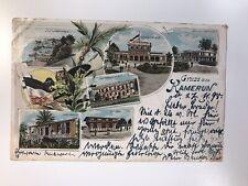 Postkarte Gruss aus Kamerun 1899 Drei Stück