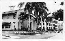 ANCON, PANAMA, MASONIC HALL & BACHELOR QUARTERS, REAL PHOTO PC, used 1945