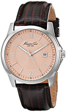 Kenneth Cole Men's 10019551 Classic Analog Display Japanese Quartz Brown Watch