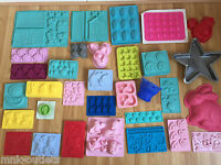 MOULDS: Disney Cake Sweets Stencil Silicone Decorating Cutters Mold Tool :LIST 1
