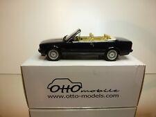 OTTO MODELS OT114 BMW 325i CABRIOLET E30 - DARK BLUE 1:18 RARE- EXCELLENT IN BOX