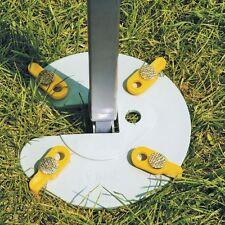 Fiamma Leg Fixing Awning Plate Kit Pair Set 2 Plates & 8 Pegs Caravan 98655-724