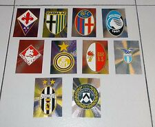 10 SCUDETTI Collectors album CALCIO 98 CARDS Panini  figurine stickers 1997-1998