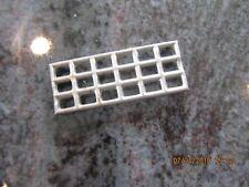 T reproduction Lionel 116 / 115 tinplate station small retangular window unpaint