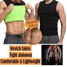 Men Waist Trainer Vest Sauna Sweat Body Shaper Tank Top Slimming Sport Shirt Gym