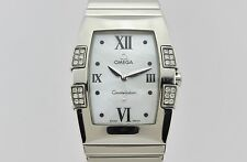 Omega Constellation Quadrella Quartz Steel Lady 15867000