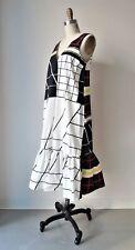 ASOS Multi-Color Geometric Printed Cotton Shirting Midi Dress Sz UK8, EU46, US4