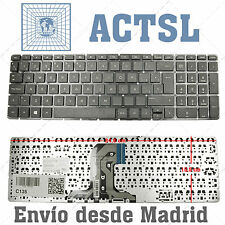 Teclado Español para HP Pavilion 15-BA Series  Black (Without Frame, Win8)