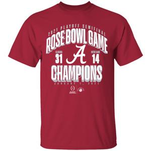 Men's 2021 Alabama Crimson Tide College Football Playoff Champions T-shirt S-4XL