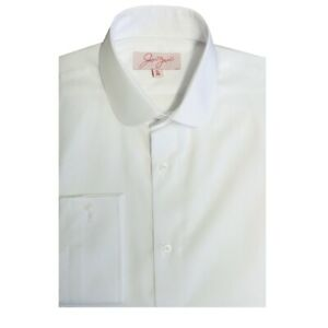 White New Peaky Blinders Penny Collar Shirt - Wedding/Formal/Smart/Party