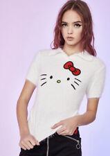 Hello Kitty Fuzzy Sweater Top