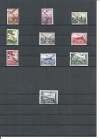 Serbien 1941, Michelnummern: 16 - 25 o, gestempelt o, Einzelmarken zur Auswahl